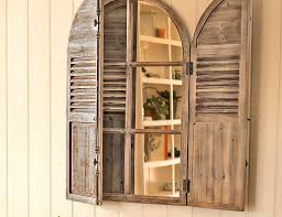 window shutter wall decor exceptional window shutter wall decor ideas art beautiful door rustic antique old