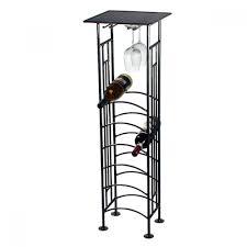 standing wine rack. Furniture Marvelous Black Iron Arbor Floor Standing Wine Racks Regarding Rack R
