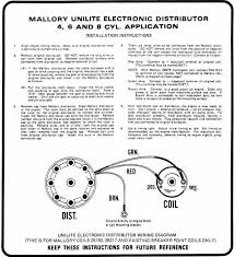 mallory distributor wiring diagram Mallory Wiring Diagram mallory hei distributor wiring diagram mallory hyfire wiring diagram