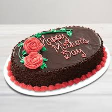 Send Happy Mothers Day Chocolate Cake Online By Giftjaipur In Rajasthan