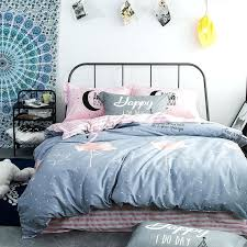 pink and grey duvet cover boy girl fashion grey duvet cover set twin queen double single size pure cotton bedding set quilt bed in bedding sets from home