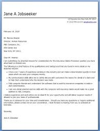 Sample Cover Letter For Word Processor Cover Letter For Word