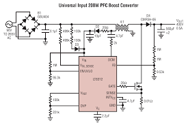 lt8312 boost controller with power factor correction linear rvs 12 power factor controller abb manual at Power Factor Controller Wiring Diagram