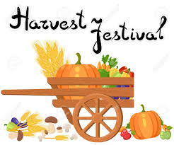 Harvest Festival Harvest Fruits And Vegetables Autumn Collection