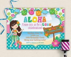 Hawaiian Party Invitation Rome Fontanacountryinn Com