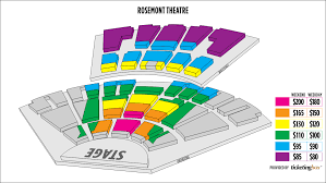Rosemont Theatre Seating Chart With Seat Numbers Rosemont Theater Seating Chart View Bedowntowndaytona Com