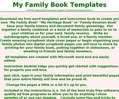 Family Reunion Book Template 38 Best Of Family Reunion Program Template Saghollow Com