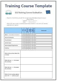 Training Plan Template Xls