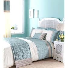 Duck Egg Blue Duvet Sets King Size Duck Egg Beautiful Birds ... & Buy Catherine Lansfield Home Fine Luxury Collection Lois Single Bed Duvet  Cover Set Duckegg From Our Adamdwight.com