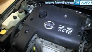 how to change spark plugs 2002 06 2 5l nissan altima youtube 02 Nissan Altima Engine Wiring Harness 02 Nissan Altima Engine Wiring Harness #78 2002 nissan altima engine wiring harness