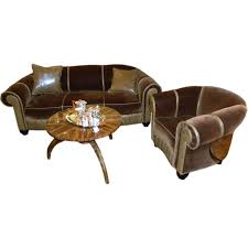 vintage art deco furniture. Glamorous Art Deco Sofa \u0026 Chair Suite Vintage Furniture