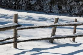 determine the installation area for your fence wood snow fence types
