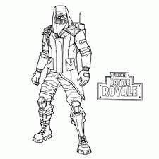 Fortnite Ghoul Trooper Coloring Pages Fortnite Free Galaxy Skin