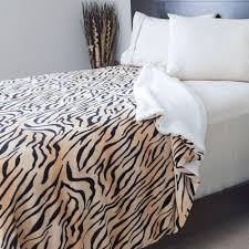 queen sherpa blanket. Interesting Blanket Lavish Home Tiger Print FleeceSherpa Polyester FullQueen Blanket Inside Queen Sherpa S