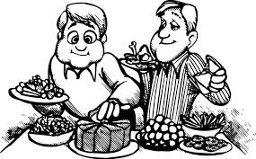 dinner table clipart black and white. dinner table clip art images all nite graphics 2 clipart black and white