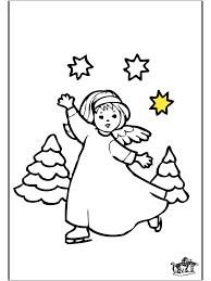 Engel Kleurplaat Kleurplaten Kerst