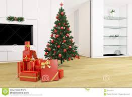 Living Room Christmas Living Room With Christmas Tree Stock Photos Image 33197773
