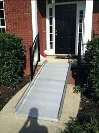 dog ramp for outdoor stairs diy