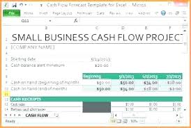 How To Do A Cash Flow Projection Cash Flow Projection Template Excel Project Management Daily