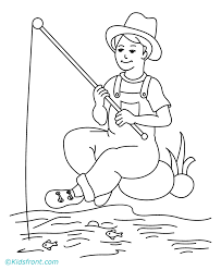 Small Picture Fishing Coloring Coloring Home