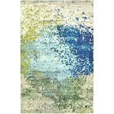 blue and green rug ikea adum round