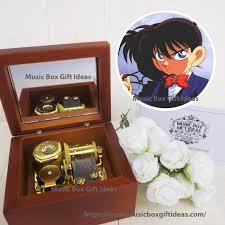 Detective Conan Case Closed Main Theme Sankyo 18-Note Windup Music Box  Gift– Music Box Gift Ideas