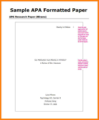 apa format sample outline co apa format sample outline