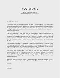 29 Best Employment Cover Letter Template Example Latest Template