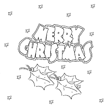 Small Picture Printable Coloring Pages For Merry Christmas Christmas Coloring
