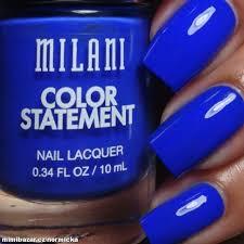 Lak Na Nehty Tmavě Modrá Matná 26 Blue Print 10 Ml