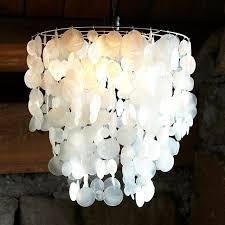 wax paper chandelier best capiz shell chandelier ideas on teal open ideas 32