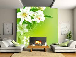 new customized home decor fresh lily tv background wallpaper bedroom wall paper sofa large 3d mural modern fashion office living room office free high