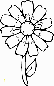 Spring Flower Coloring Pages For Toddlers Printable Flowers To Color