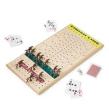 Wooden Horse Race Board Game