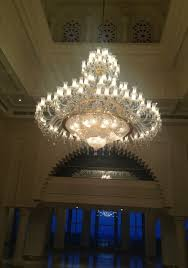 hotel chandelier crystal light with klm lighiting candle bulbs