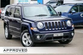 jeep patriot 2014 blue. Wonderful Blue 2014 Jeep Patriot MK MY14 Limited Blue 6 Speed Sports Automatic Wagon In T