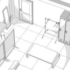 控え室 メイク室 漫画背景フリー素材 漫画コミック 漫画資料