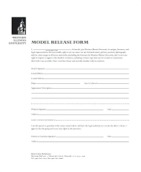 Free Model Release Form Template Photo – Mklaw