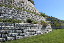 specification section retaining walls