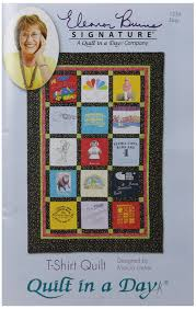 Amazon.com: Quilt in a Day T-Shirt Quilt Pattern by Eleanor Burns ... & Amazon.com: Quilt in a Day T-Shirt Quilt Pattern by Eleanor Burns: Home &  Kitchen Adamdwight.com