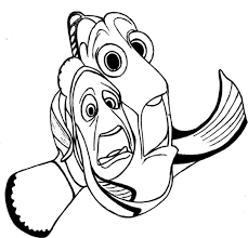 Free Coloring Pages Of Bruce Finding Nemo Finding Nemo Characters