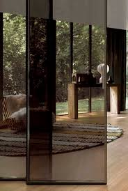 indoor door sliding glass double pavilion minimal by antonio citterio