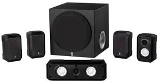 sound system with subwoofer. amazon.com: yamaha ns-sp1800bl 5.1-channel home theater speaker system: audio \u0026 sound system with subwoofer