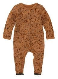 Hema Newborn Baby Jumpsuit Bruin Bruin Babywinkel Xlnl