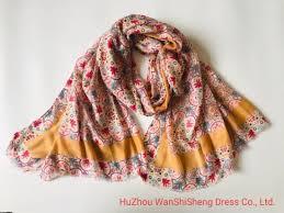 women lightweight fl flower scarves