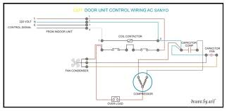 sanyo outdoor wiring refrigeration air conditioning sanyo outdoor wiring