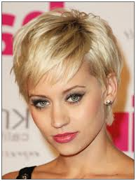 short hairstyles for fine thin hair and square face