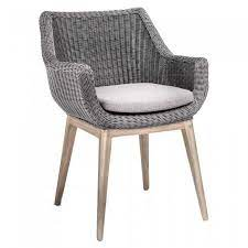 jacky wicker garden chair with cushion