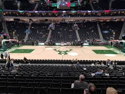 Fiserv Forum Section 106 Milwaukee Bucks Rateyourseats Com