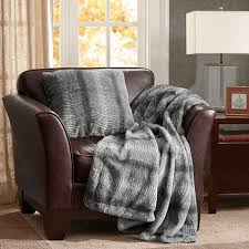 madison park signature serengeti luxury faux fur throw